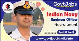 Indian Navy Engineer Officer Recruitment