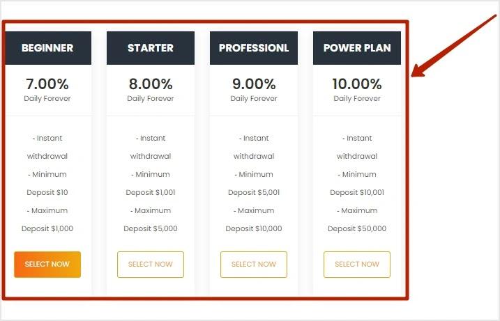 Пополнение баланса в Crypto Aware Ltd 2