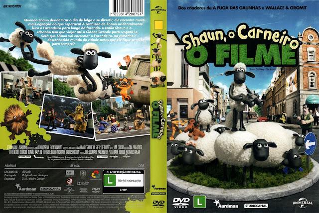 Capa DVD Shaun O Carneiro O Filme