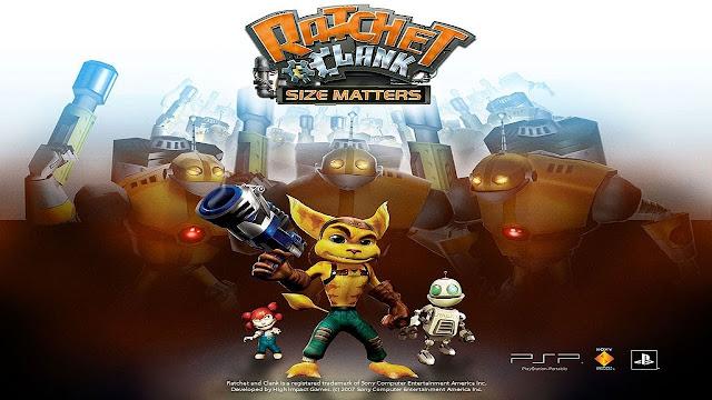 تحميل لعبة Ratchet & Clank: Size Matters لأجهزة psp ومحاكي ppsspp
