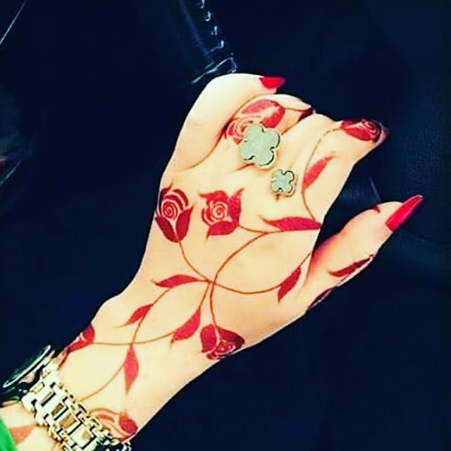 arabic mehndi designs images for front hand