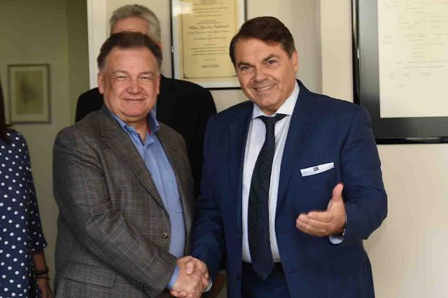 Επίσκεψη Πολωνού Περιφερειάρχη στον Δήμαρχο Άργους Μυκηνών