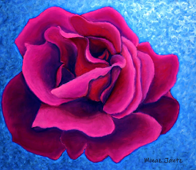 A Rose is a Rose by Minaz Jantz (Pastel)