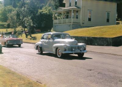 1941 Cadillac Series Sixty-Two Five-Passenger Touring Sedan