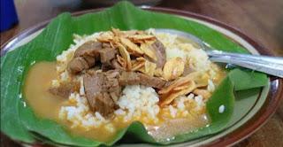 Resep nasi gandul
