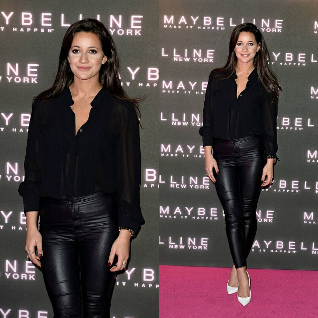 Roxie Nafousi Looks Hot in Black Outfit