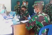 Peringati HUT TNI Ke 75, Kodim 0427/Way Kanan Gelar Donor Darah