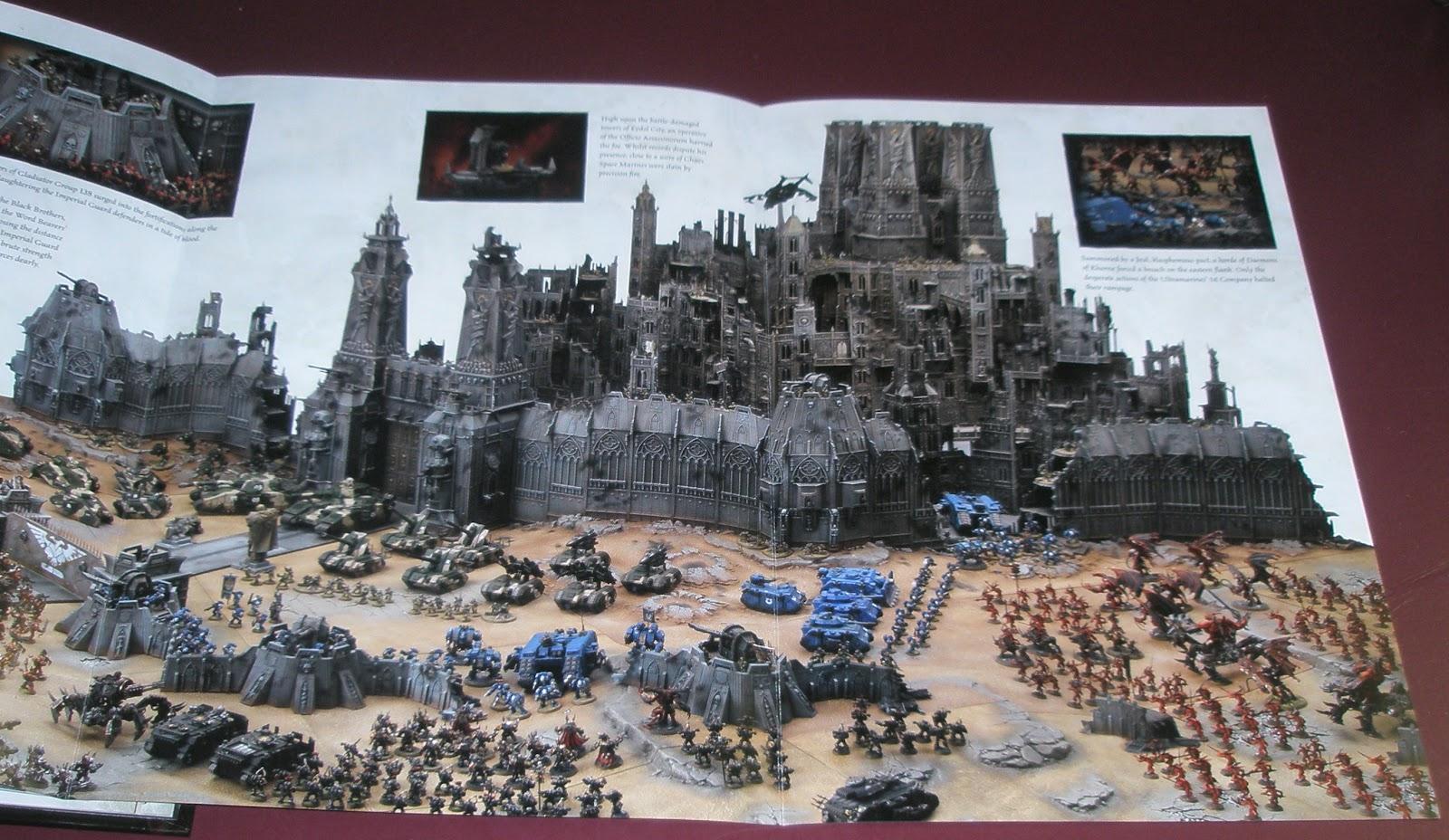 Santa Cruz Warhammer The Best Part of the 6th Edition 40k