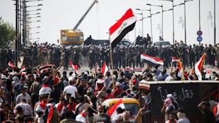 مظاهرات العراقيين