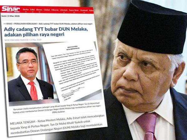 Perkembangan Semasa Politik Di Melaka