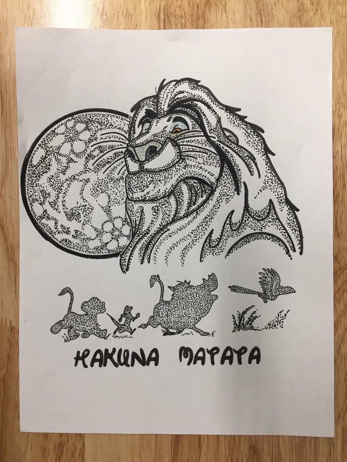 A Corbin Says What The Lion King Hakuna Matata Flash For Sale By Mario Rj Corbin