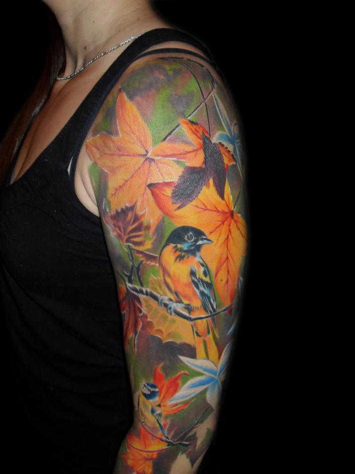 Tattoo Sleeve3d Tattoos