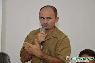 Confira: Em entrevista vereador Nén taxista  parabeniza os 57 anos de emancipação politica da cidade de Pilõezinhos PB
