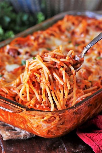 Nanna's Baked Spaghetti Image