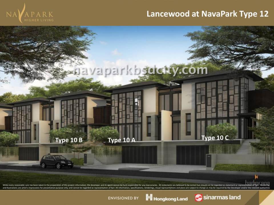 Tipe 12 Lancewood Nava Park BSd