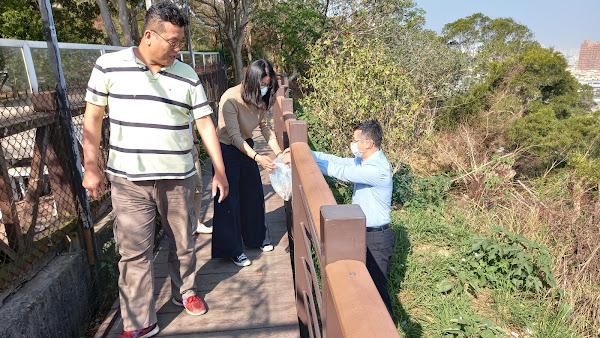 彰化縣榮服處辦理環境教育 走訪生態教學步道