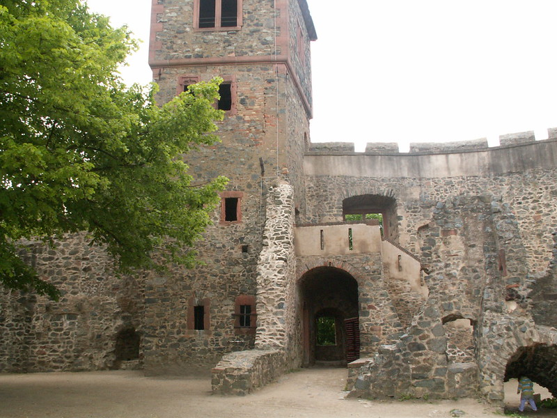 Tower and ruins of Frankenstein Castle