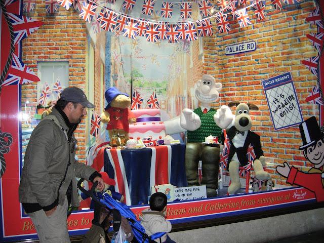 loja de brinquedos Hamleys, em Londres