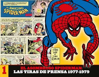 EL ASOMBROSO SPIDERMAN: LAS TIRAS DE PRENSA 1