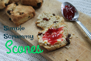 Mrs U Makes...Simple Scrummy Scones