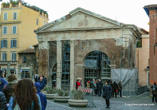 Pórtico de Otávia, Ghetto Romano