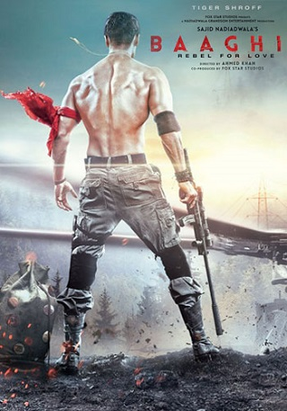 Baaghi 2 2018 Hindi 400MB HDRip 480p