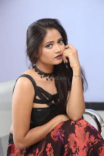 Shriya Vyas in a Tight Backless Sleeveless Crop top and Skirt 119.JPG