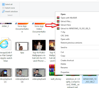 How to download windows 10 ISO file highly compressed