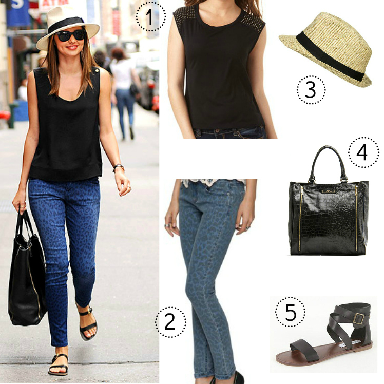 Style For Less Miranda Kerrs Everyday Chic Style