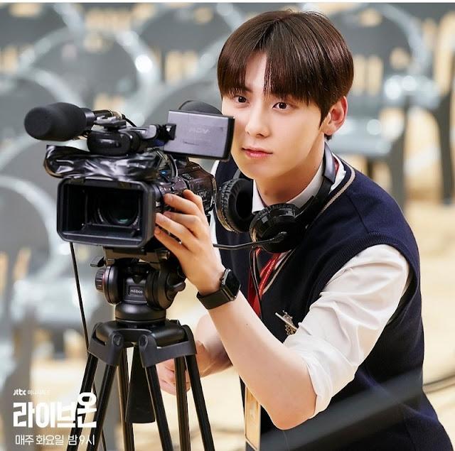 Karakter Go Eun-Taek (Hwang Minhyun NUEST) di Live On Drama