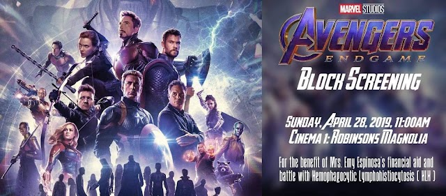 Screening for a Cause--- Avengers: Endgame