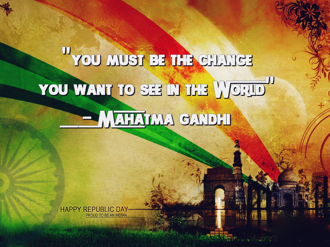 Republic Day Images With Quotes: Happy Republic Day 2018 Quotes Wishes In English