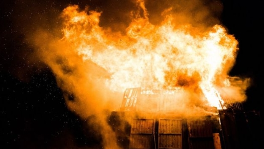 Kebakaran di Kawasan Padat Penduduk, 100 Kepala Keluarga Kehilangan Rumah di Manggarai