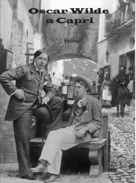 Oscar Wilde in Capri. Photo via Luigi Galano.