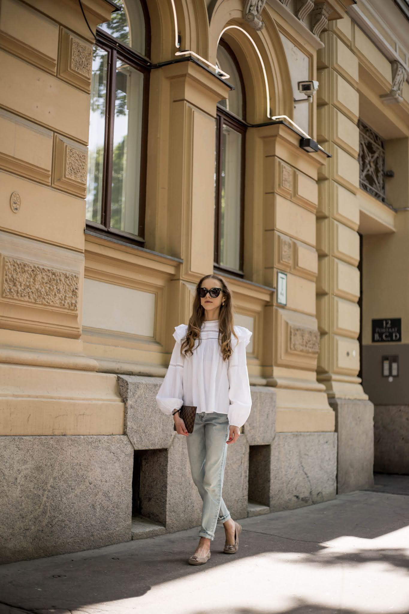 Kuinka yhdistää viktoriaanisesta tyylistä inspiroitunut paita // How to wear victorian inspired blouse