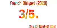 French Biriyani (2020) rating
