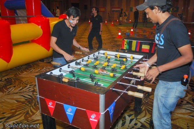 The traditional foosball table is always a good gaming choice