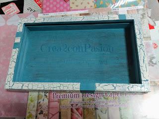 Cuelga-llaves-reciclando-una-caja-de-madera-craquelado-Crea2-con-Pasión