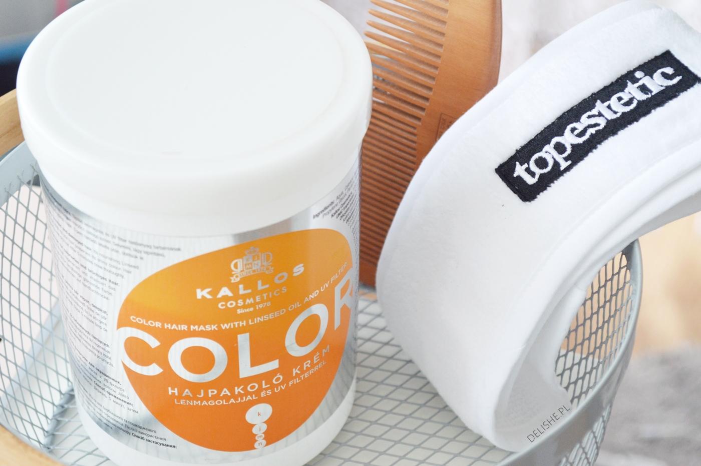 olejowanie włosów emulgowanie oleju kallos color