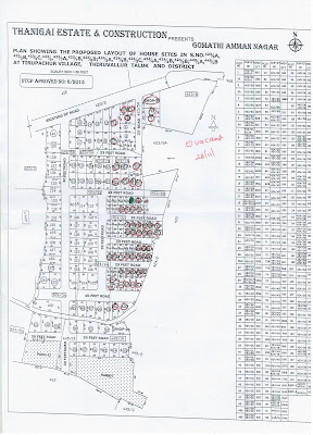 Thiruvallur Plots - Layout Sketch (Thirupachur)