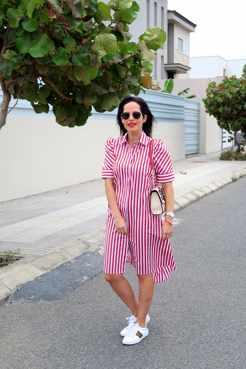 zara-striped-shir-dress-look