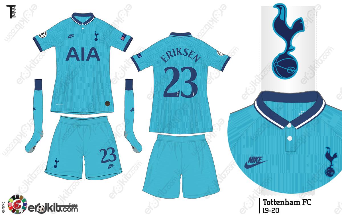 Kit Design By Eroj 2019 20 Tottenham Third
