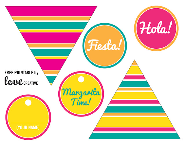Cinco de Mayo Party: Free Printable Mini Kit.