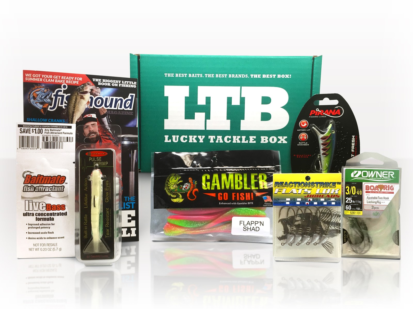 LTB: June 2015 Lucky Tackle Box - Inshore Saltwater