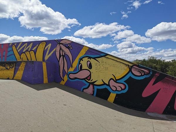 Street Art in Elderslie by Silly Pear