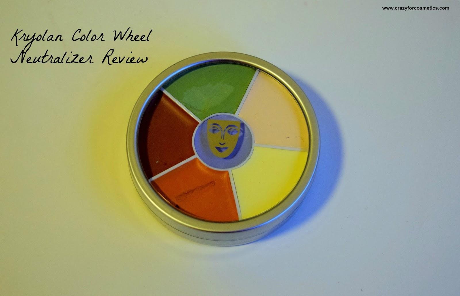 Kryolan Color Wheel Concealer Circle Neutralizer How