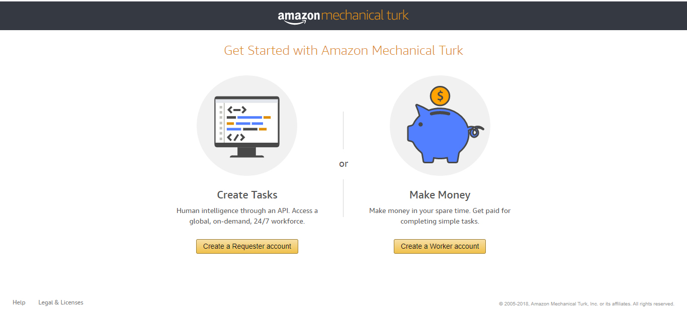 How to get started on amazon mechanical turk; Mturk LOGIN