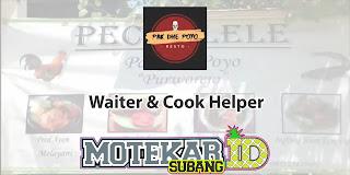 Lowongan Kerja Waiter Cook Helper Pak Dhe Poyo Tangerang 2019