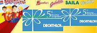 Logo ''Sperlari in squadra con te'': buoni Decathlon da 5€ premio certo e vinci buoni da 1.000€