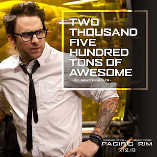 Charlie Day as Dr. Newton Geiszler in Guillermo del Toro's Pacific Rim (2013)